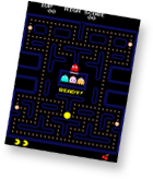 Pac Man video game