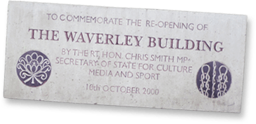 Waverley plaque