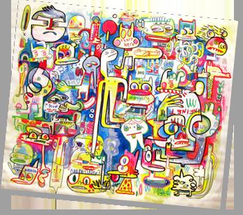 Jon Burgerman Art