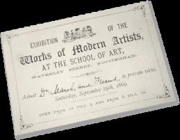 1869 exhibition