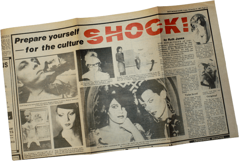 Newspaper Shock Article