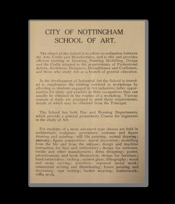 1928 Prospectus page
