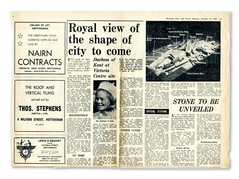 1969 Victoria newspaper
